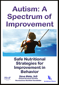 Autism: A Spectrum of Improvement by Steve Blake, ScD