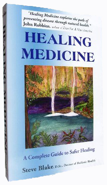Healing Medicine, A Complete Guide to Safer Healing by Steve Blake, ScD